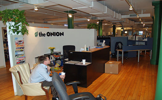 Onion office by David Shankbone