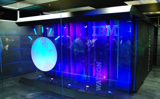 IBM's Watson computer, Yorktown Heights, NY by Clockready