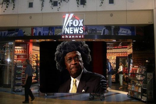 Herman Cain caves on Fox's one condition